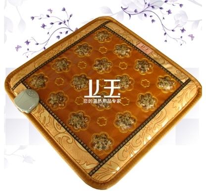 Good quality! Natural tourmaline heat mat jade health care mat multicolor jade office mat heat10-70Celsius AC220,Free shipping(China (Mainland))