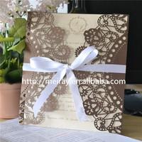 USA, Europe, Africa, Asia Regional Feature unique wedding invitation card
