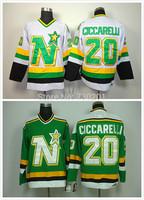 Dallas Stars Jerseys 20 Dino Ciccarelli Cheap Hockey Jersey Stitched and Sewn