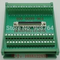SCSI68 transfer rail relay terminal installed compatible  ADAM-3968 ADLINK DIN-68S-1
