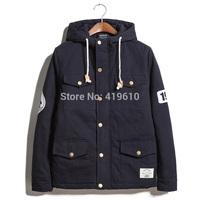 New men's fashion Korean warm winter cotton padded jacket, cotton padded jacket Mens Metrosexual self-cultivation