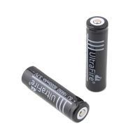 10 Pcs/lot 18650 battery Ultrafire 3.7V 6000mAh Li-ion Rechargeable Battery Flashlight batteries
