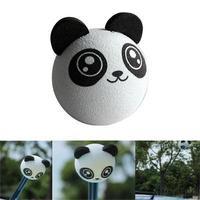 2015 New Hot Sale Fashion Popular Kungfu Panda Car Antenna Topper Ball For Car Decoration Car Aerials Decoration