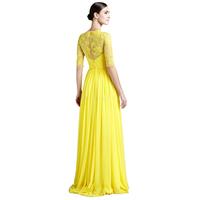 Women Sleeveless Ball Party Lace Precess Long Dress Prom Formal Dresses