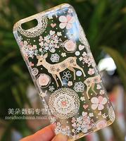 For  iphone   phone case plus silica gel mobile phone case for  apple   phone case ultra-thin 6plus 5.5 protection case