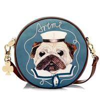 New exclusive limited edition cartoon sweet dog lady single shoulder bag handbag retro AD2259