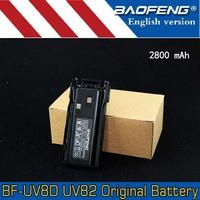 Original Baofeng Pofung battery 2800mAh for Baofeng UV-82 UV-8DFree Shipping