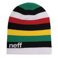 One size neff beanie rainbow skullies warm knitted hat cap