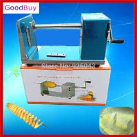 New Manual Tornado Potato Chips Chipper Machine Potato Spiral Cutter,Potato Chips Cutting String Machine