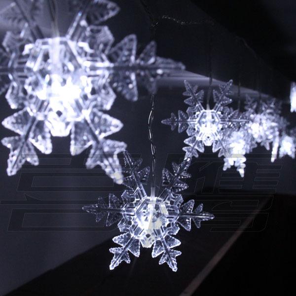 20 Snowflake LED String Fairy Light 4m Party Xmas Wedding Hotel Decoration L143(China (Mainland))