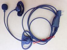 D shape earphone with MIC Finger PTT K plug for Baofeng BF-UV5R,BF888S,Wouxun KG-UV8D,Kenwood,Puxing PX777,TYT etc.walkie talkie