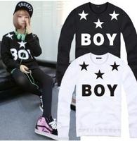new 2015 women men male Hip hop sweatshirt hoodie boy star Pentagram Hooded Hoodie Hip Hop Hoody