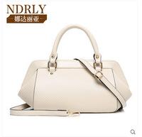 European and American Fashion Brand Designer Plaid Small Hobos Leather Handbag Women Shoulder Messenger Bag 6035