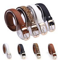 Womne belts new ms ms white belt belt joker HF38 fine fashion Wholesales