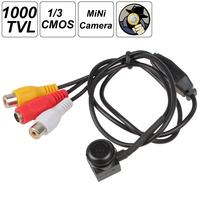 Mini 1000 TVL 1/3 Inch PC1099K CMOS CCTV Camera with Auto White Balance