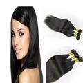أسود البرازيلي الطبيعية الصف 8a 100 شعرة الإنسان العذراء الشعر على التوالي عذراء البرازيلي نسج الشعر التمديد بيع بالجملة الساخنة