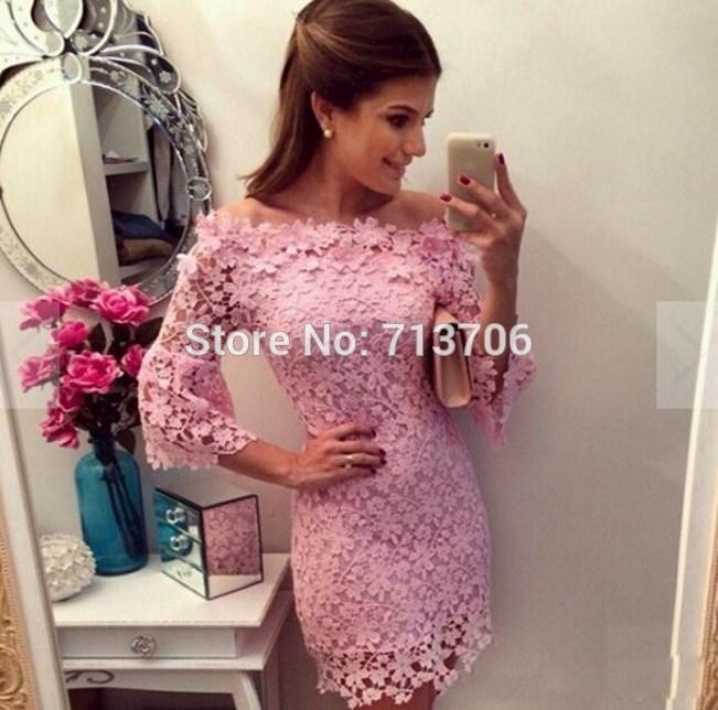 цена Коктейльное платье Su mei lun SML2162 2015 онлайн в 2017 году