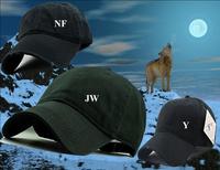2014 Free shipping High Quality Cotton Embroidered wolf Baseball Cap NY hip hop basketball hat FACE snapback baseball-caps NTJ