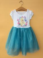 6PCS/LOT 4-16T baby girls princess cinderella dresses