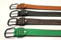 Women's Belts joker rivet fashion Belts Men and Women a wide belt Wholesales
