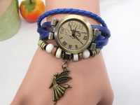 2015 classic restoring ancient ways is han edition men and women students children lovely angel goddess bracelet watch wholesale