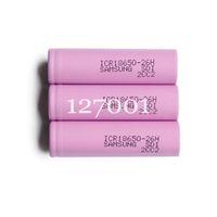 4 pcs Original 18650 battery ICR18650-26F 2600mAh Li-ion 3.7v Rechargeable Battery