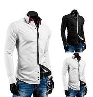 2015 Spring Free shipping wholesale and retail long-sleeved shirt New Men's casual shirts Men's Slim Shirt