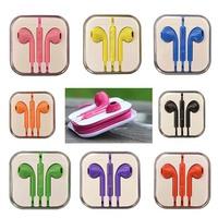 3.5mm Studio In-ear Earphone Headset Audifonos Headphones Earbuds Auriculares For DJ Mp3 Mp4 Player Phone Music Microphone SEG1