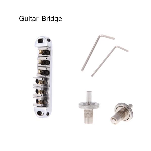Adjustable Acoustic Guitar Bridge Chromeplate Roller Zinc Alloy Metal Design Guitar Parts & Accessories(China (Mainland))