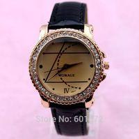 32pcs/lot china product pu leather band womage hot sale women watch