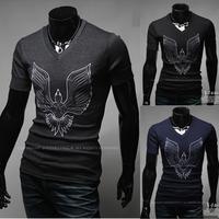 Free shipping 2015 new men's casual fashion Phoenix printing T-shirt