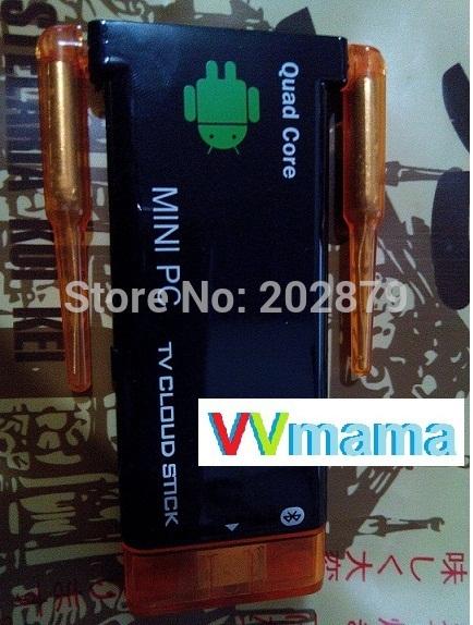 CX919 II better than MK809 IV Android 4.4 RK3188 Quad Core 2GRAM 8G ROM Bluetooth Dual External Antenna TV dongle J22 CX-919 II(Hong Kong)