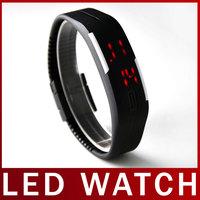 2015 Fashion Children Casual Running Sports Wrist Watch Rubber Band LED Digital Display Watch For Boys Girls Relogio Masculino