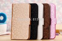 Diamond Leather Phone Case for Prestigio MultiPhone 5500 DUO With Card Holder Cover for Prestigio MultiPhone 5517 DUO Cases