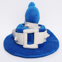 Free Shipping 25*40cm Hot Game LOL The Tiny Master Of Evil Veigar Cosplay Hat Plush Hat Stuffed Cap