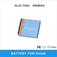 Li-ion Battery 1000mAh KLIC-7004 For Kodak V1073 V1233 V1253 V1273 M1033 M2008 Digital Camera