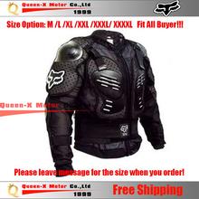 Motorcycle Fox Gear Armor Motocross Protector M L XL XXL XXXL XXXXL  Body Guard Racing Accessories Free Shipping(China (Mainland))