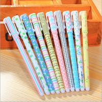 10pcs/lot Colours/Creative Cute Colourful Year series Gel pen/DIY Multifunction gelpen/Funny!