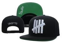 Undefeated snapback hat 5 bar 5 stripe baseball cap EXO hiphop bone gorras