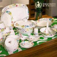 Bone china tableware dishes set dinnerware set 56 bone china set ceramic tableware
