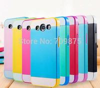 2015 Fashion Hybrid Combo Silicone Plastic Case Cover For Samsung Galaxy S3 I9300