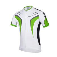 Kaitesi green and white milk silk fabrics for men's outdoor Jersey short sleeve shirt men's Sweatshirts