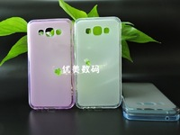 New Slip Flexible TPU Protective soft Silicon Case cover  For Samsung Galaxy E7 E700  phone