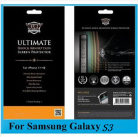 Shock Absorption Protection Screen for Samsung Galaxy S3 i9300, TOP Anti-shock film,Ultimate Film For Samsung S3