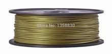 Bronze filament 1.75mm &3.00mm 3d printer filament  0.5kg/spool*2=1kg  Consumables New Product Released