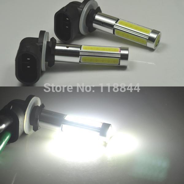 2Pcs 10W Xenon Hid H27W/2 881 886 894 898 899 COB LED SMD Headlight Kit High Power Fog Light Daytime Running Projector Bulbs(China (Mainland))