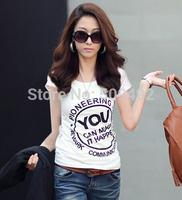 Good Quality New 2015 Casual Cotton Women T shirt Yellow Spongebob 39 Models Print Thin Style t-shirt women tees tops for women