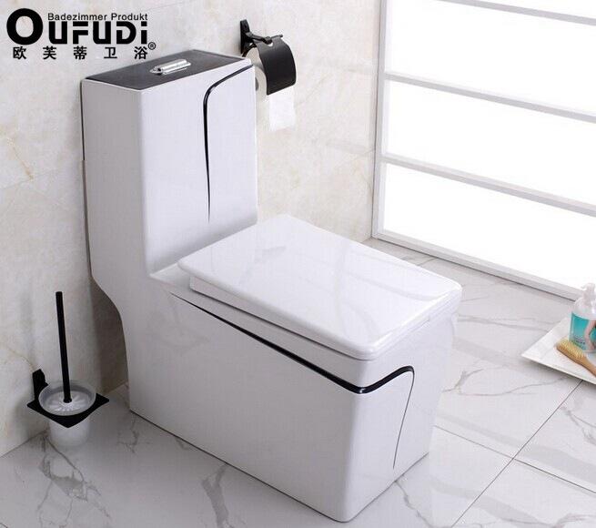 Ou Fudi bathroom color advanced deodorant descending mute toilet water-saving toilet Wholesale Germany import(China (Mainland))
