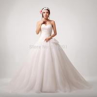 vestidos de novia ball gown wedding dresses sexy vintage wedding dress new 2015 vestido de noiva train fashionable 740