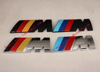 Steel M3  Car Styling High Quality Car Stickers And 3D Car Sticker , car decor stickers